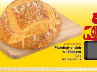 Chlieb pšeničný s kváskom 425 g