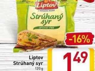 Obrázok Liptov Strúhaný syr 120 g