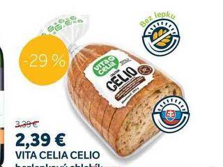VITA CELIA CELIO bezlepkový chlebík, 250 g