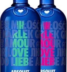 Obrázok Absolut vodka Drop of Love 40% 1,00 L