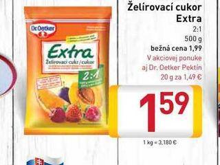Dr. Oetker Želírovací cukor Extra 500 g