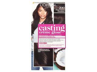 L'Oréal farba na vlasy Casting Créme Gloss 200 1x1 ks