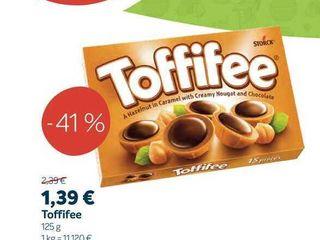 Toffifee, 125 g