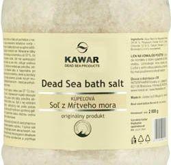 Kawar soľ z mŕtveho mora 1x2 kg