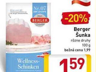 Berger šunka 100 g