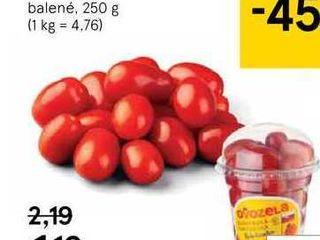 Cherry paradajky Bobulienka, 250 g