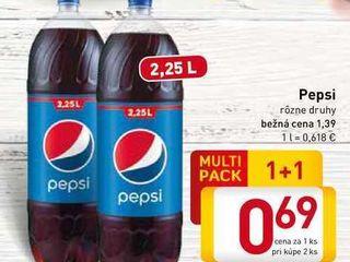 Obrázok   Pepsi  2,25 l