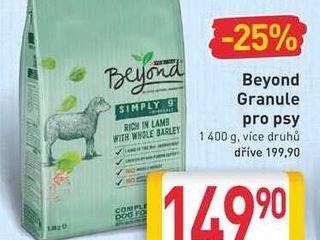 obrázek Beyond Granule pro psy 1 400 g, více druhů