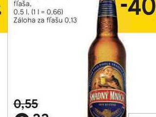 Smädný Mních, 0,5 l