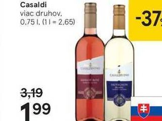 Casaldi, 0,75 l