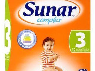 Sunar Complex dětská kojenecká výživa, vybrané druhy