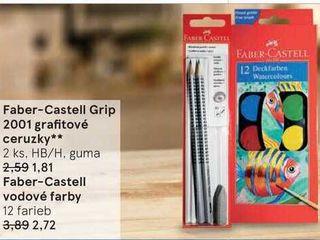Faber-Castell vodové farby