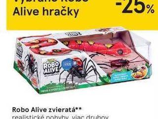 Robo Alive zvieratá