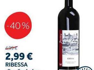 RIBESSA ríbezľové víno, 0,75 l