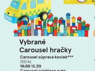 Obrázok Carousel svietiace auto so zvukovým efektom