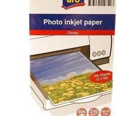 Fotopapier 10x15 cm ARO 2x50 listov 1ks