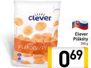 Obrázok Clever Piškoty 250 g