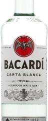 Obrázok Bacardi Carta Blanca 37,5% 0,70 L