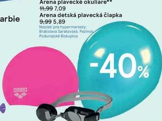 Arena plavecké okuliare