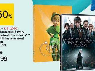 DVD Fantastické zvery:  Grindelwaldove zločiny