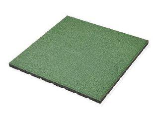 Dlažba gumová MAX3 zelená 50 cm x 50 cm