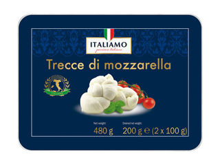 Obrázok Trecce di Mozzarella