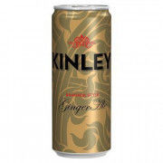 KINLEY GINGER 330ml PLECH