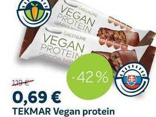 TEKMAR Vegan protein, 40 g