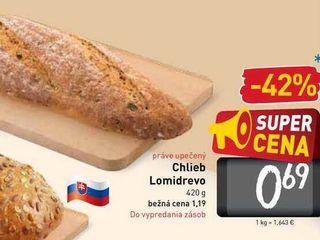 Chlieb Lomidrevo 420 g