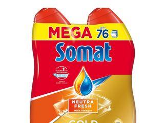 Somat gél natural fresh prostriedok do umývačky riadu 2x684 ml