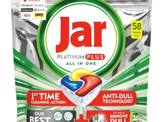 Jar Platinum Plus kapsule do umývačky riadu 1x58 ks