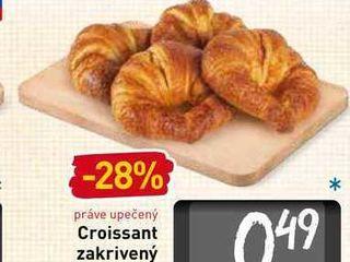 Obrázok  Croissant zakrivený 82 g