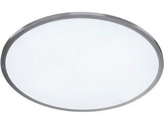 Wofi Stropné LED svietidlo Linox strieborné s reguláciou jasu trieda: A