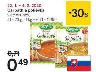 Obrázok Carpathia polievka