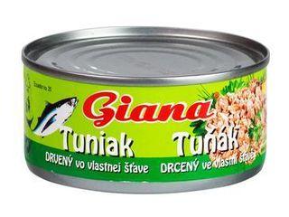 Obrázok Tuniak drvený vo vlastnej šťave 185g