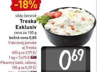 Obrázok Treska Exklusiv 100 g