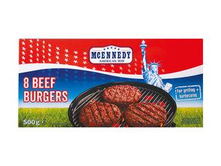Hovädzie hamburgery