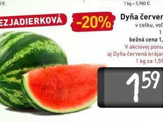 Dyňa červená  1 kg