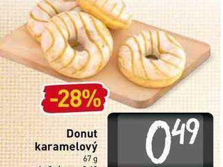 Donut karamelový  67 g