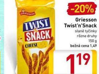 Obrázok  Griesson Twist'n'Snack 150 g