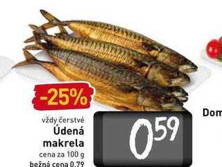 Obrázok Údená makrela  100 g