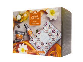 Tesori D'Oriente Box telový krém 300ml + Eau de Toilette 100 ml