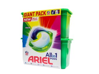Ariel All in 1 Color gélové kapsuly 80 praní 1x1 ks