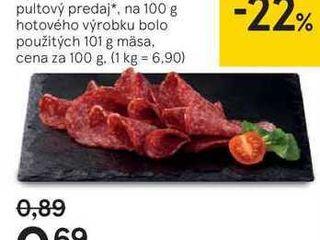 Vysočina saláma, 100 g