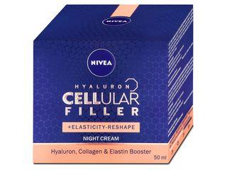 Nivea Hyaluron Cellular Filler remodelačný nočný krém 1x50 ml
