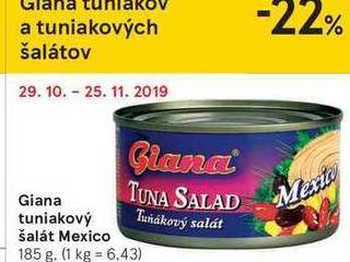 Giana tuniakový šalát Mexico, 185 g