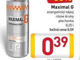 Maximal G  0,25 l