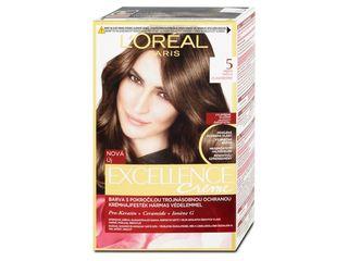 L'Oréal Excellence farba na vlasy 5 hnedá svetlá 1x1 ks