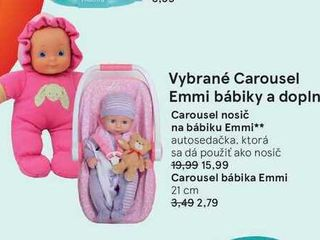 Obrázok Carousel bábika Emmi
