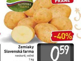 Zemiaky Slovenská farma 1 kg